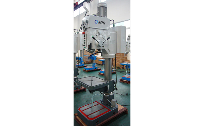 PILLAR TYPE VERTICAL DRILLING MACHINE -DMC SERIES