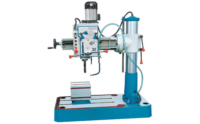 RADIAL DRILLING MACHINE-DRU Series